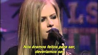 Avril Lavigne - My Happy Ending (Live Late Show Letterman 2004) (Legendado)