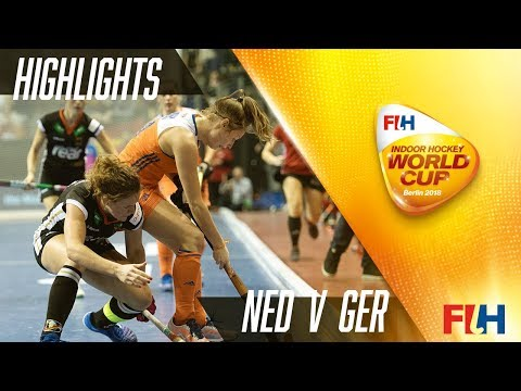 Netherlands v Germany - Match Highlights Indoor Women's World Cup - Women's Final