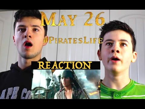 Pirates of the Caribbean: Dead Men Tell No Tales Trailer: Our Reaction