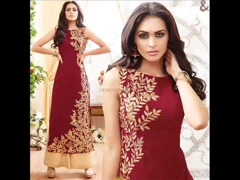 Latest Beautiful Embroidered Designer Dresses Stylish Punjabi