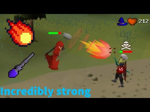 PKing with the NEW Fire Surge Spell
