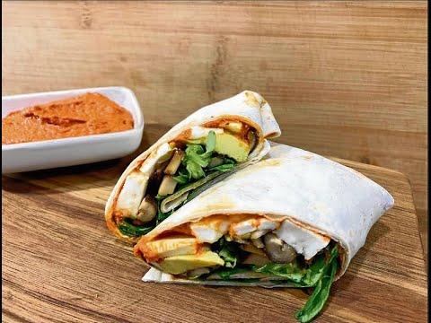 OurenSanos | Receta de burritos vegetarianos