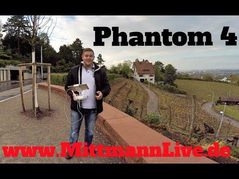 Phantom 4 ein Flug über Stuttgart Nord Richtung Ost die Drone ist der Hammer!