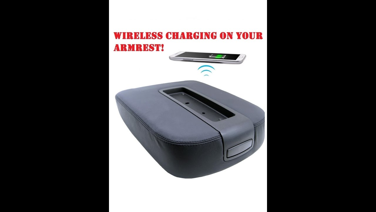 Chevy Avalanche 2016 >> 2007-2013 GM Truck Wireless Charger - YouTube