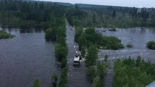В Тулунском районе вновь разлилась река Ия, у Хабаровска только за сутки Амур поднялся на три метра.