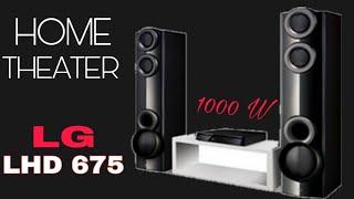 lG LHD 675 DVD HOME THEATER SYSTEM 1000 Watt
