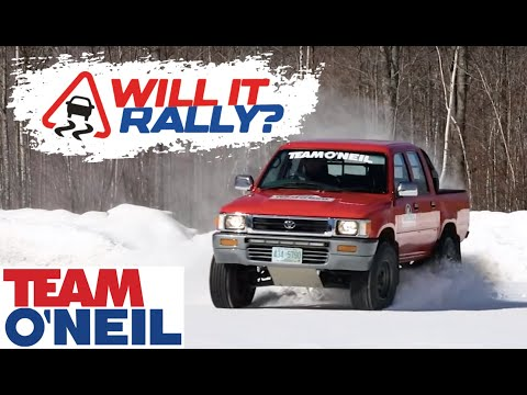 Toyota Hilux: Will It Rally?