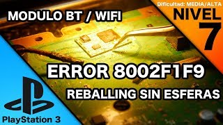 ERROR 8002F1F9 PLAYSTATION 3 NO SINCRONIZA NI CONECTA WIFI ##ElTallerDeYakara