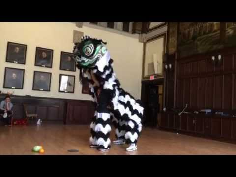 Traditional Chinese Lion Dance Routine: UMass Boston Martial Arts & Lion Dance