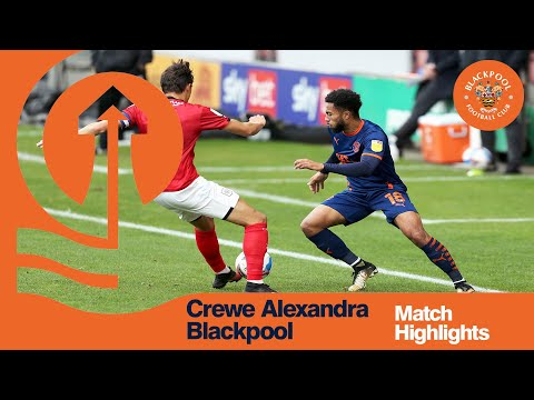 Crewe Blackpool Goals And Highlights
