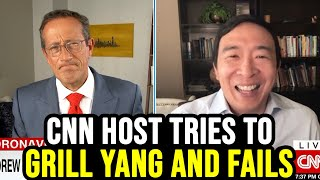 CNN Host Tries to Grill Andrew Yang and Epically Fails