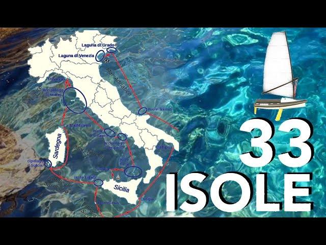 Viaje en solitario - 33 Isole, de Ustica a Venecia, Italia