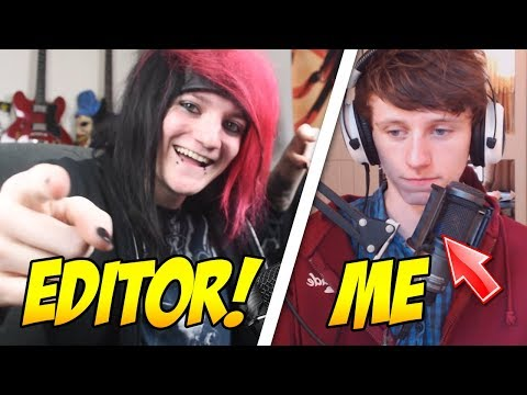 SWAPPING ROLES WITH MY EDITOR