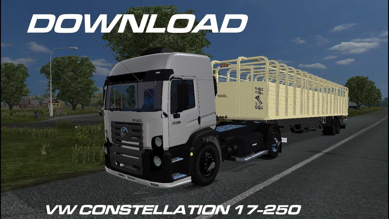 Download VW Constellation 17-250 4x2 - ETS2 MODS ARG