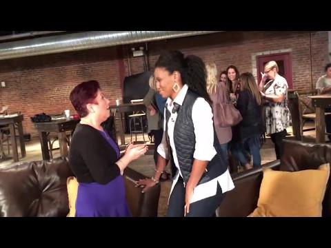 Virginia Prodan   Saving My Assassin  -  Priscilla Shirer Show