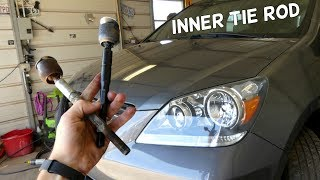 HONDA ODYSSEY INNER TIE ROD REMOVAL REPLACEMENT