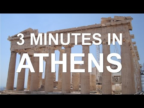 3 Minutes in Athens - Highlights Video (GoPro)
