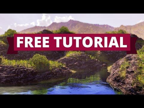 Blender tutorial: Landscape