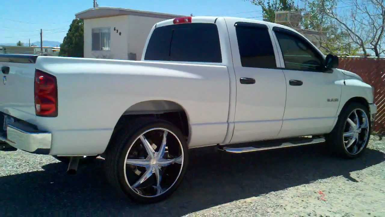 2008 Dodge Ram On 26 Quot S Youtube