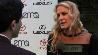 Daryl Hannah - STOP THE KEYSTONE XL PIPELINE!! / Interviewed By Ken Spector 21st Annual EMA Awards