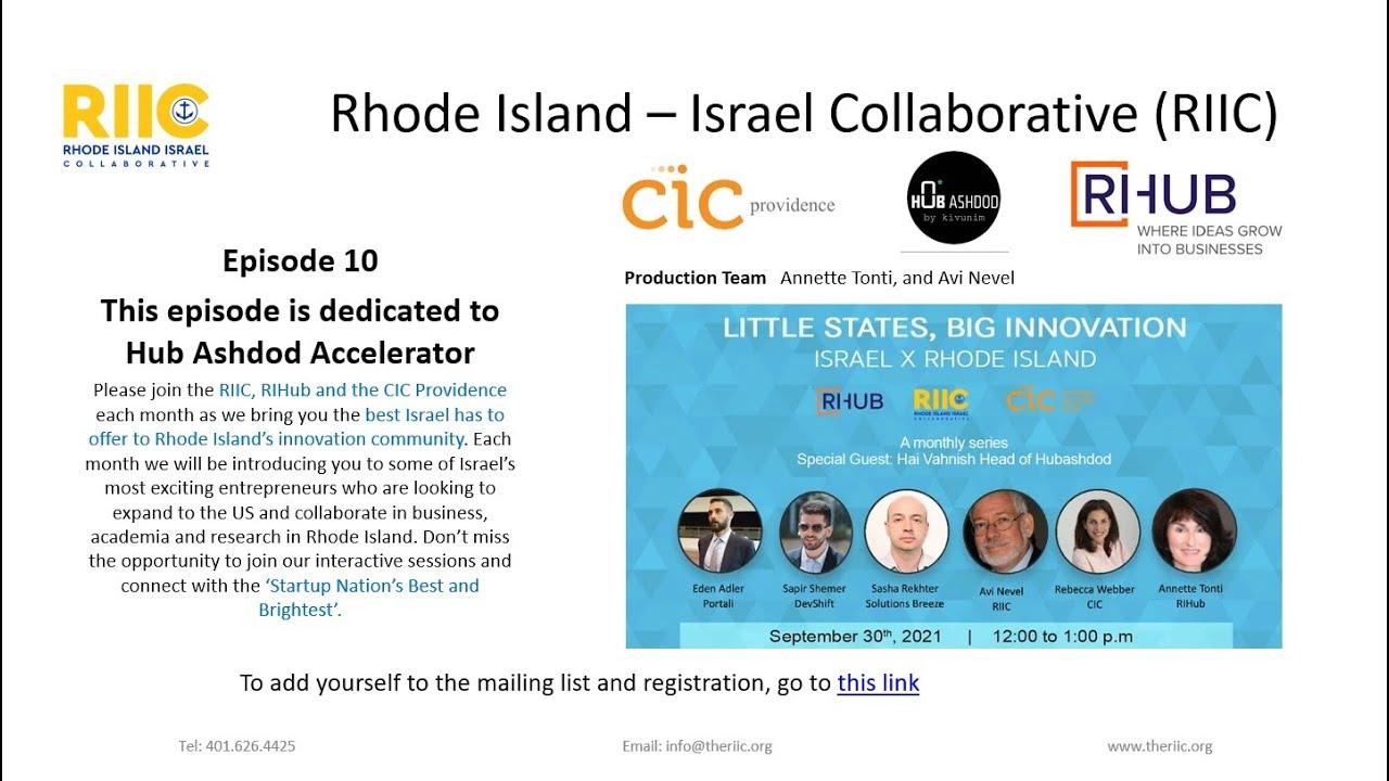 Little States Big Innovation Episode 10 September  2021