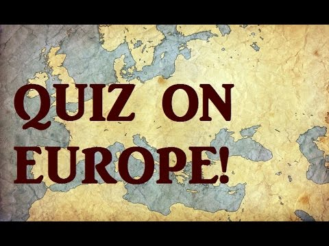 Hard Geography QUIZ on EUROPE! - Testing Your Neurons