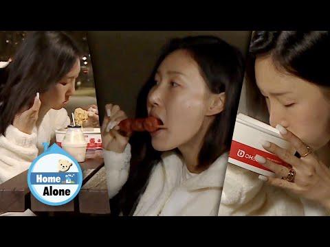 Hwasa Slurps the last remaining Noodles! [Home Alone Ep 336]