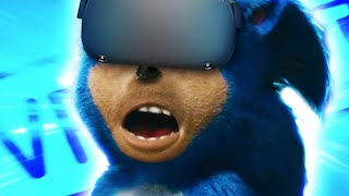 THE VOICE OF SONIC PLAYS VRCHAT!!!