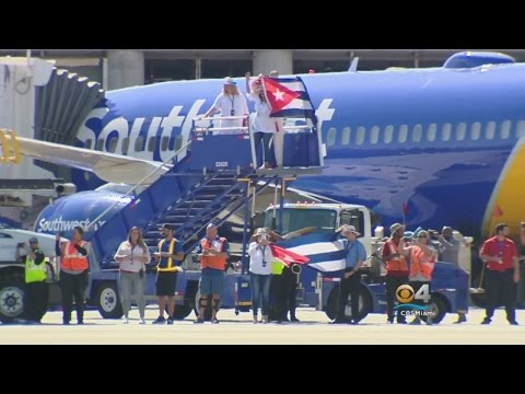 Southwest Airlines Begins Service To Cuba
