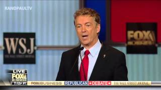 Rand Paul on the trade deal: Fox Business GOP Debate