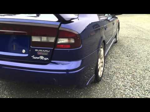 2000 SUBARU LEGACY RSK B4, TWIN TURBO, EJ20T, 300HP, All Wheel Drive, A/M boost gauge