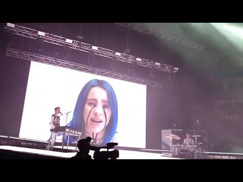Billie Eilish - When The Party's Over (27/08/2019, Megasport Palace, Moscow)