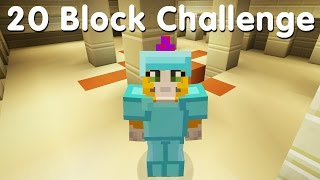 Minecraft PS4 - 20 Block Challenge - Sniper Duel (10)