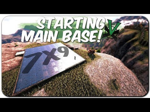 Building An Alpha Base! | NEW Official PVP Tribe Life Series | ARK: Survival Evolved | EP 2