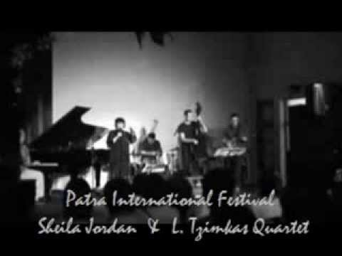 "Sheila Jordan & Lakis Tzimkas Quartet ""Everything happens to me"" Live"