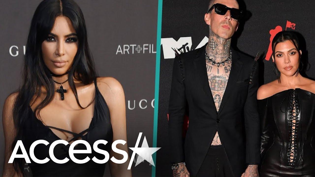 Kim Kardashian Loves Kourtney Kardashian & Travis Barker Together