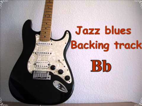 Jazz blues Backing track in Bb/140 Bpm