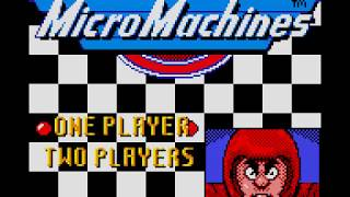 Game Boy Color Longplay [108] Micro Machines 1 and 2: Twin Turbo