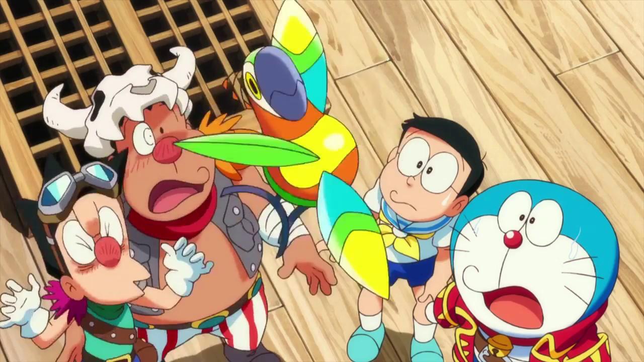 New Movie Doraemon The Movie Nobita S Treasure Island