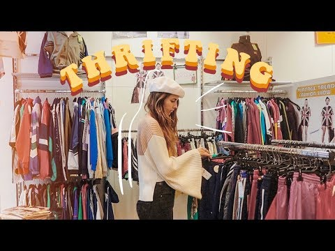 come thrifting with me in vienna, austria!
