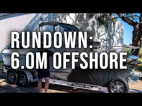 Rundown on the 6.0 Offshore // Edencraft Boats