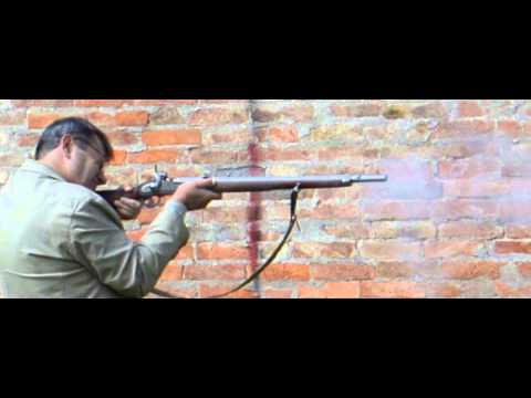 Lock times 6: Percussion rifle musket in slow motion