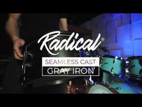 Oriollo Radical 65 - Cast Gray Iron Snare Drum - 4 Tunings