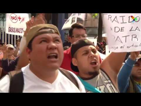 Mexicans Protest Against Rising Gasoline Prices