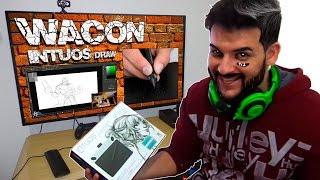 Unboxing mesa digitalizadora Wacom Intuos Draw ! Excelente para usar no Photoshop
