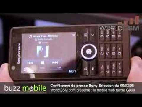 Sony Ericsson G900 tactile WorldGSM