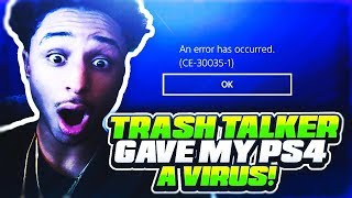 TRASH TALKING HACKERS GIVE MY PS4 A VIRUS OVER A GAME OF NBA 2K19🤬 THESE HACKERS MUST BE STOPPED