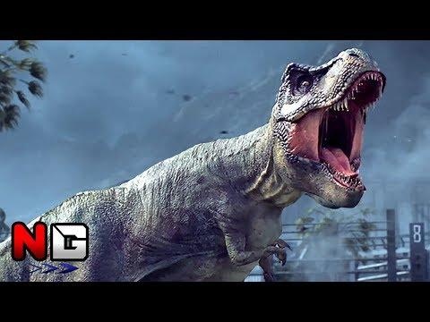 Jurassic World Evolution - Trailer   PS4, XBOX ONE, PC (Jurassic Park)