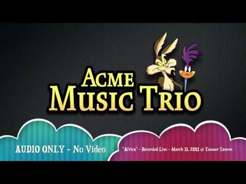 ACME Music Trio performing Toto's
