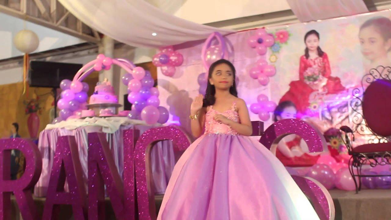 Frances Mielle S 7th Birthday Highlights Youtube